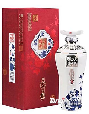 赊店青花瓷15年500ml