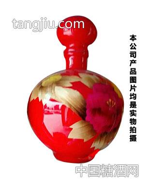 福满门坛子酒原浆酒红瓶