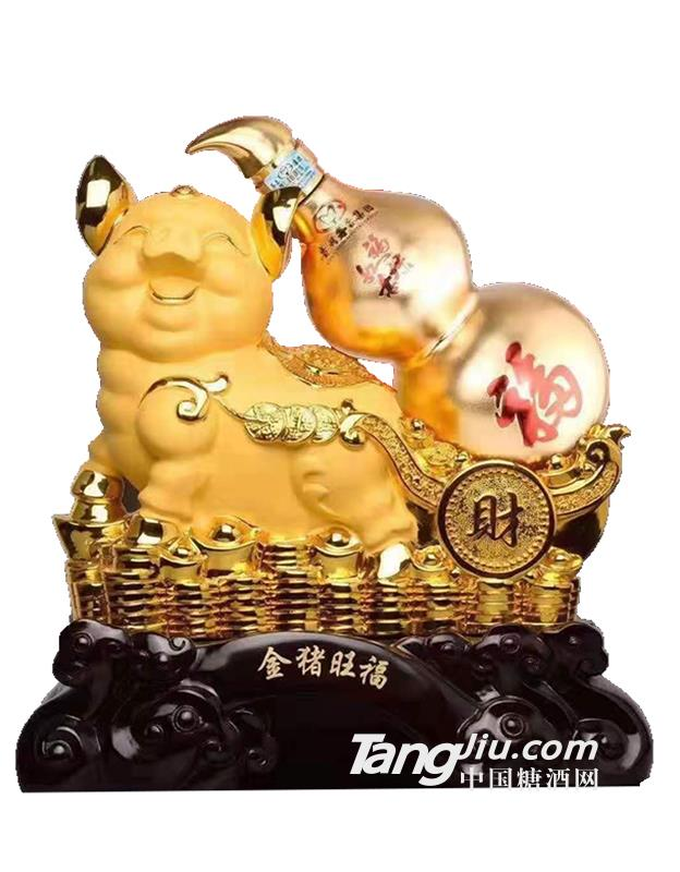 茅台集团金猪旺福酒-500ml