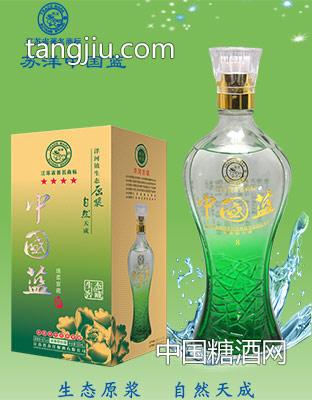 中国蓝四星绵柔窖藏-生态窖藏(绿)