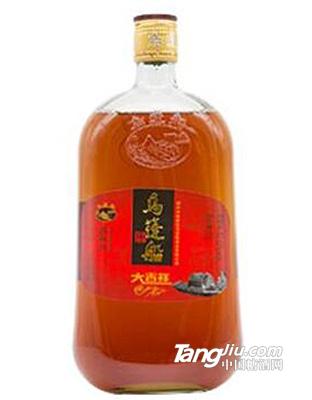 乌蓬船-大吉祥三年陈清爽型黄酒-1L