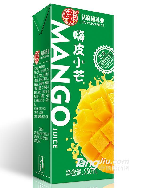 蓝津嗨皮小芒芒果风味饮料250ml