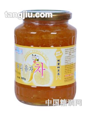 来康蜂蜜柚子茶680g