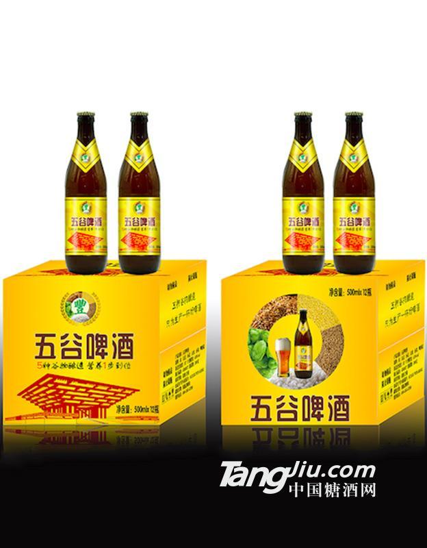 500ml圣洲五谷黄啤