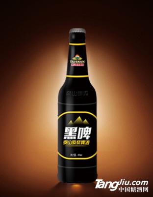 泰山原浆啤酒 黑啤酒