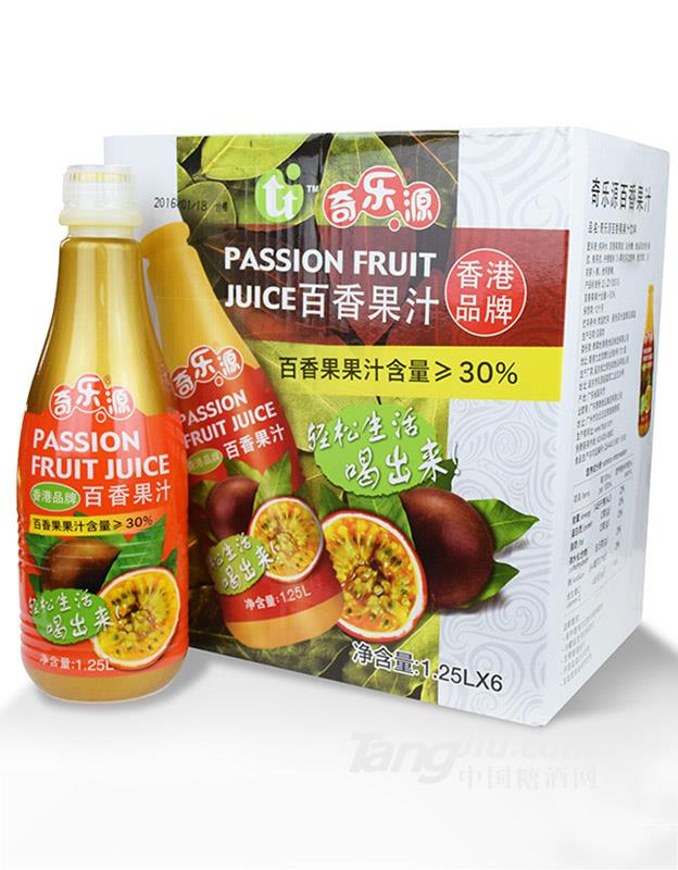 奇乐源百香果汁1.25L (1)