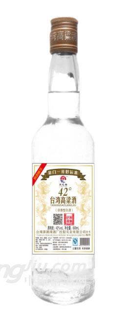 台湾高粱酒-好运42度600ml