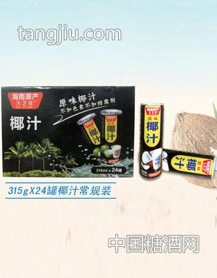 天芝健315g 24罐椰汁常规装