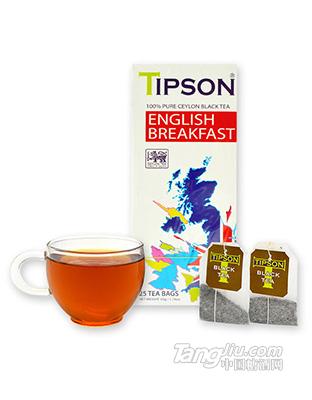 英式早餐原味红茶2克X25包