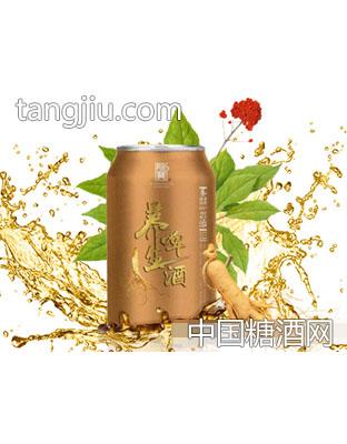 金龙宝人参养生啤酒(罐)