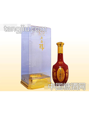 五谷醇酒・珍品级(红瓶)