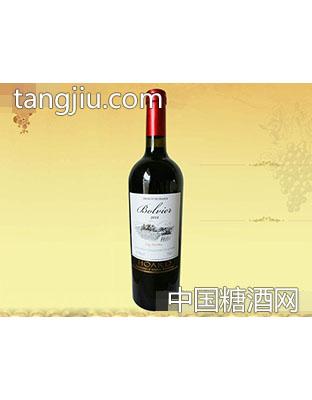 法国波尔维尔干红葡萄酒2014