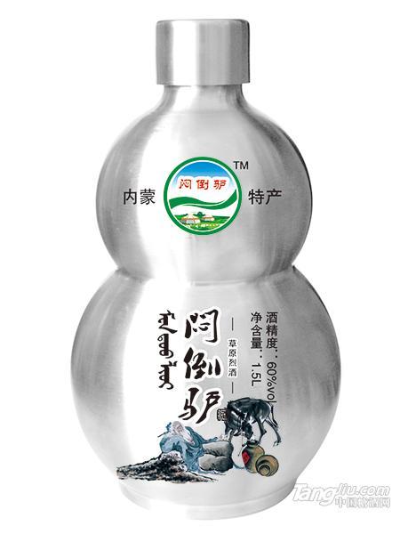 闷倒驴草原烈酒1.5L