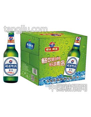 崂冰啤酒原浆500ml×12瓶(箱)