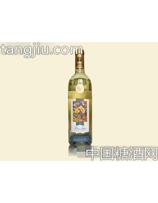 加拿大曼雅特灰品乐VQA干白葡萄酒