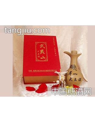 武夷山大王酒(紫砂瓶500ml)红