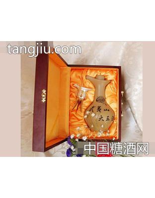 武夷山大王酒(紫砂瓶500ml)开盒
