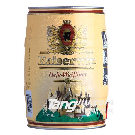 凯撒白啤酒 5L