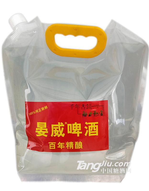 晏威啤酒百年精酿5L