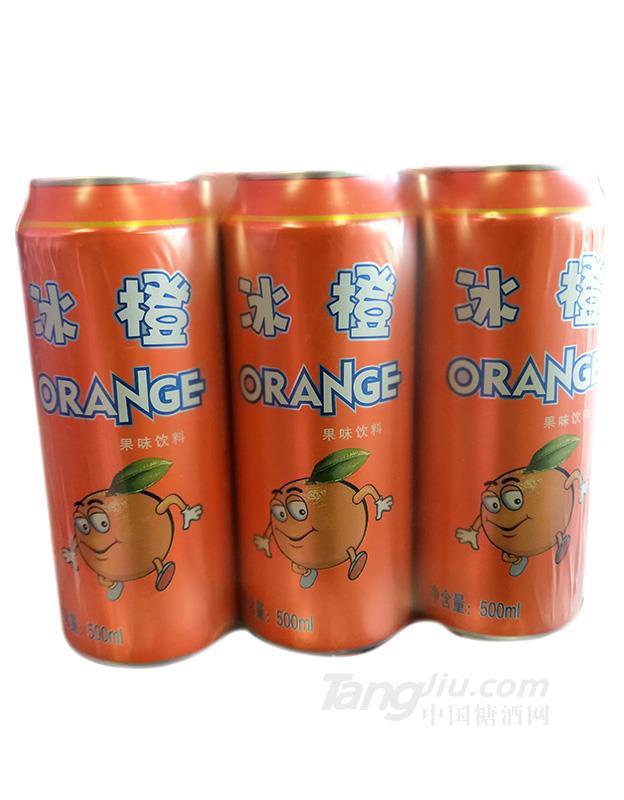 皇威冰橙果味饮料500ml