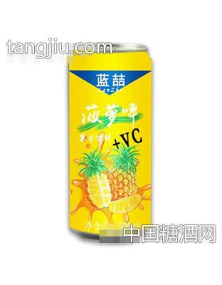 500ml蓝喆菠萝啤果味饮料