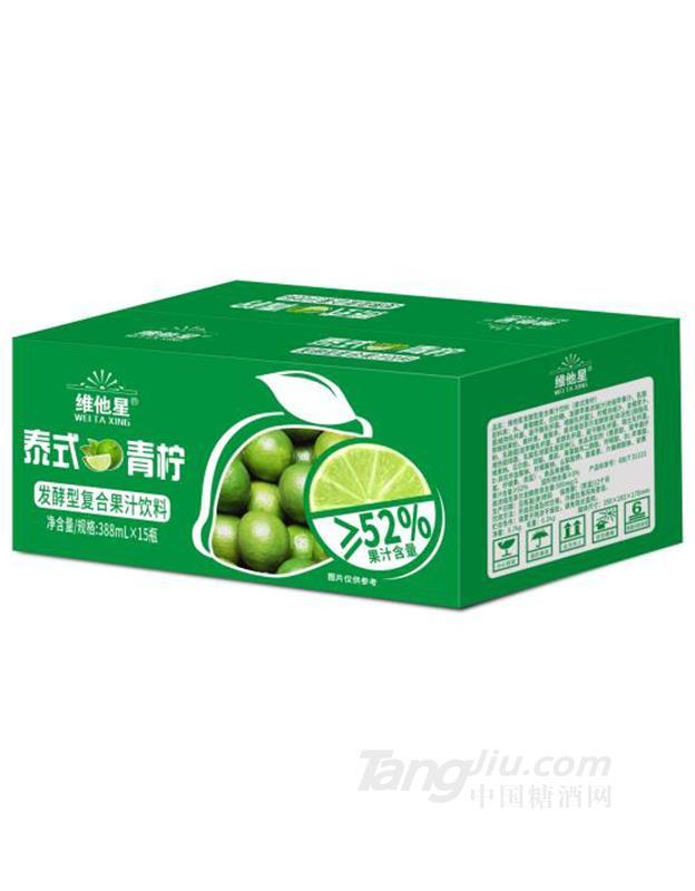 维他星-泰式青柠388mlX15瓶