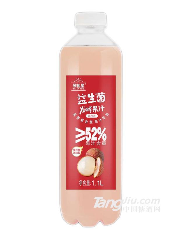 维他星益生菌发酵荔枝汁-1.1l
