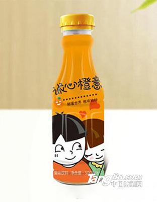 诚心橙意-果味饮料