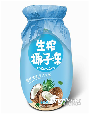 生榨椰子冻-乳饮品