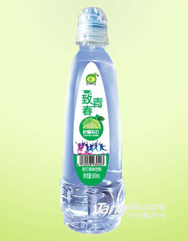 汇恋-致青春青柠苏打苏打果味饮料-500ml