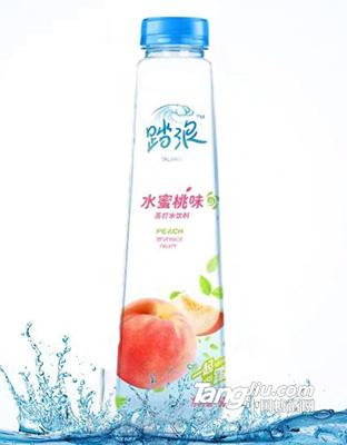 踏浪-水蜜桃苏打水-500ml