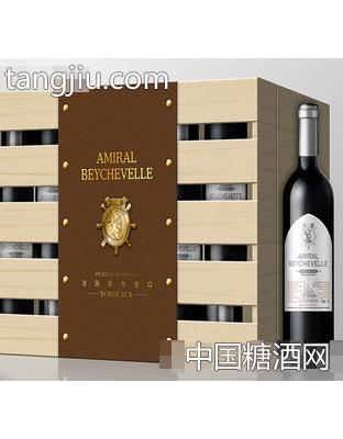 龙船将军轮机长干红葡萄酒750ml