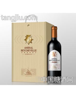 龙船将军船长干红葡萄酒750ml