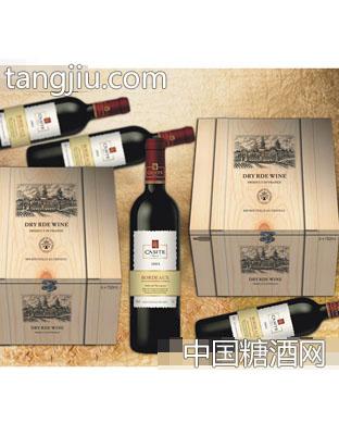 波美侯卡斯特2004干红葡萄酒