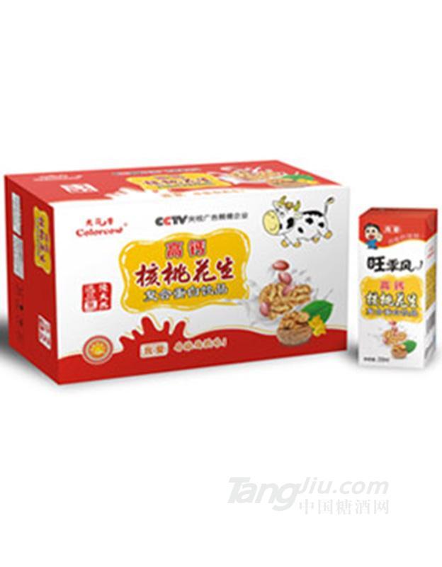 高钙核桃花生牛奶(白)-普箱 250ml