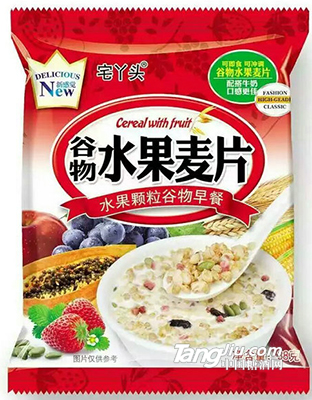 宅丫头谷物水果麦片38g