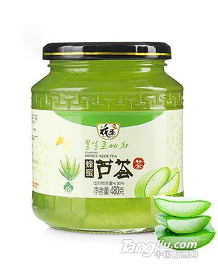 花圣蜂蜜芦荟茶480g