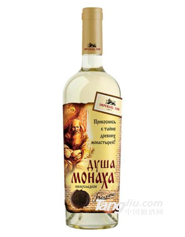 僧侣之心灵自然半甜白葡萄酒750ml
