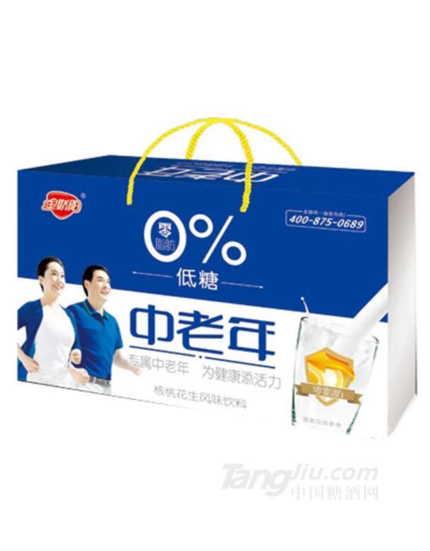 吉初元低糖中老年风味饮料(盒子)