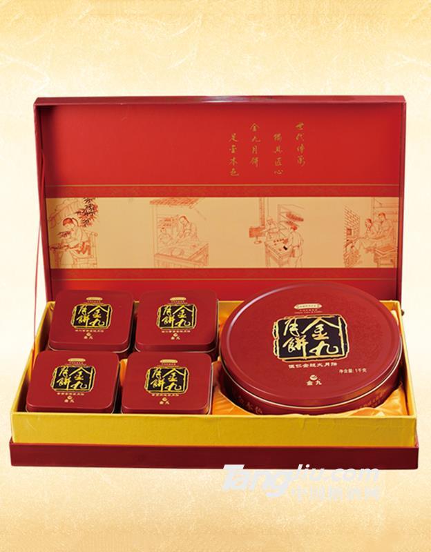 金九月饼团圆礼盒