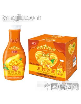 京绿园生榨芒果果汁饮料1LX6