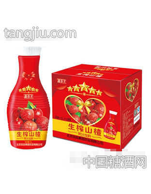 京绿园生榨山楂果汁饮料1LX6
