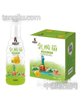 京绿园乳酸菌芒果果汁饮料1LX6
