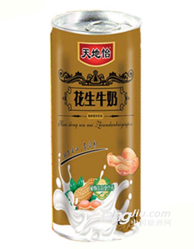天地怡花生牛奶蛋白饮品-240ml