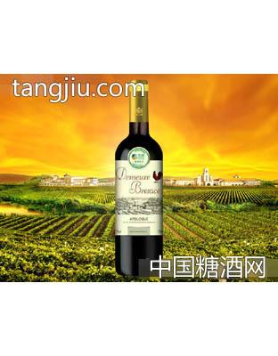 中粮名庄荟布雷萨斯古堡·传奇干红葡萄酒