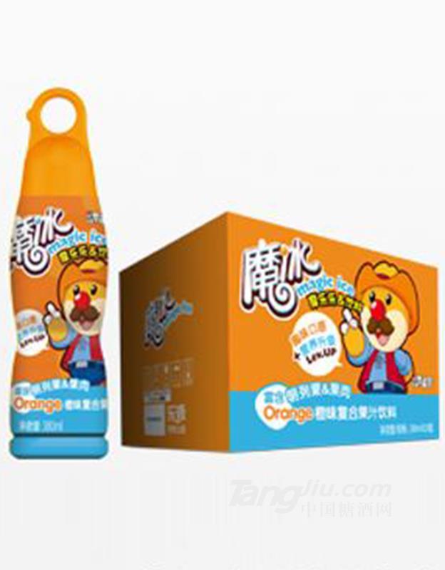 魔冰橙味复合果汁饮料