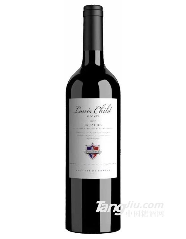 14°路易柴尔德子爵干红葡萄酒750ml