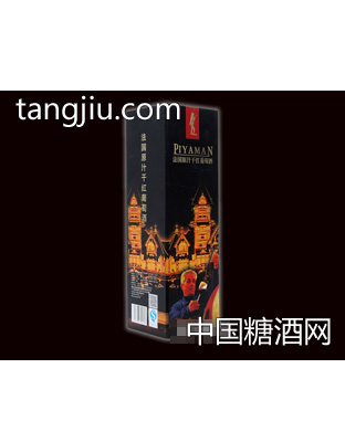 法国原汁干红葡萄酒(盒)