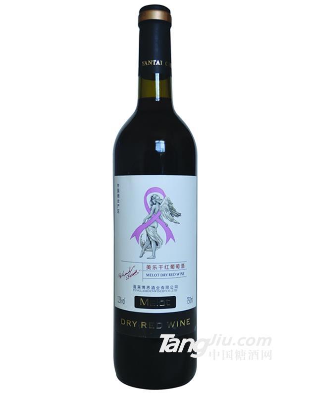 美乐干红葡萄酒-750ml