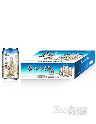 泰山大将军啤酒 330ml